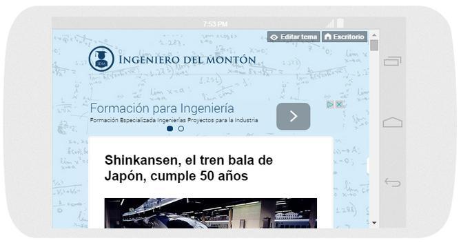 Ingeniero del montón apk screenshot