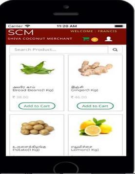 SCM - Online Veg & Fruits Order screenshot 1