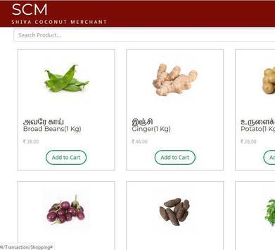SCM - Online Veg & Fruits Order screenshot 3
