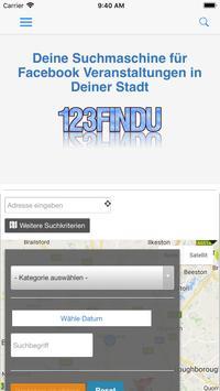 123Findu - Events screenshot 1
