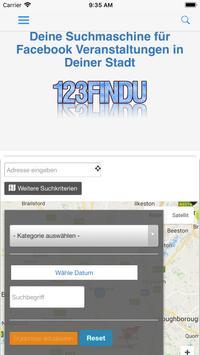 123Findu - Events screenshot 2