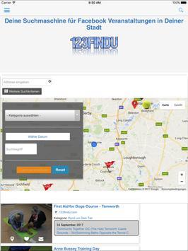123Findu - Events screenshot 3