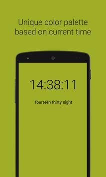 Smart color clock screenshot 2