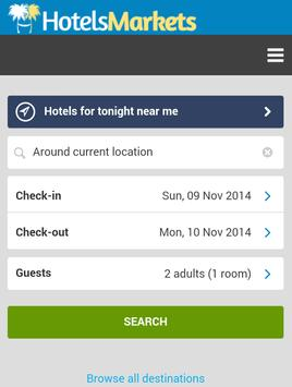HotelsMarkets - Hotels Search. poster