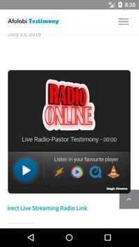 Live Radio - Pastor Testimony screenshot 3