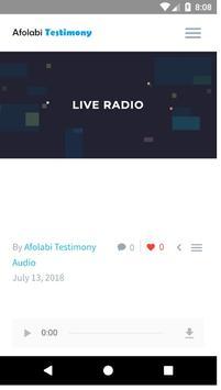 Live Radio - Pastor Testimony screenshot 4