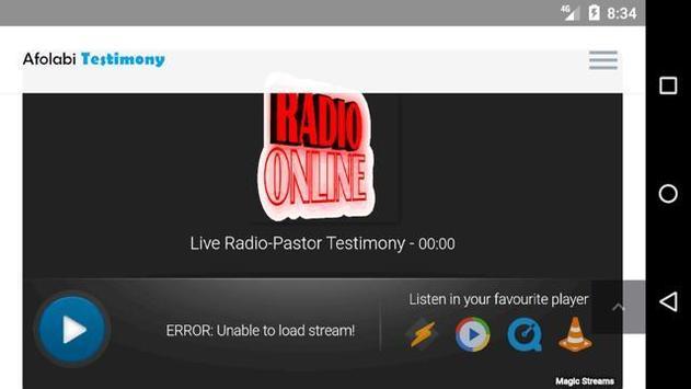 Live Radio - Pastor Testimony screenshot 5
