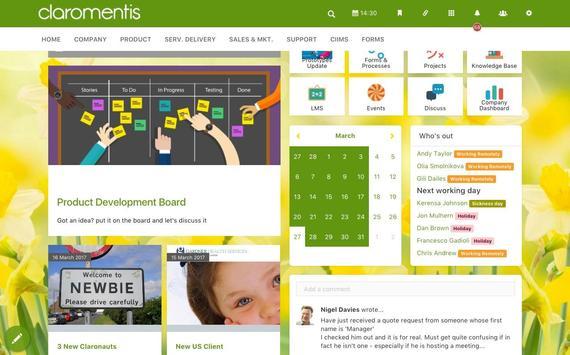 Codedev Claromentis apk screenshot