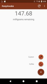 Keep Awake - Caffeine Tracker poster