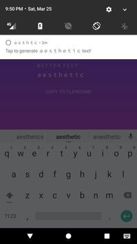 asthtc - wide text generator screenshot 1