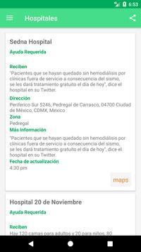 Ayuda México screenshot 6