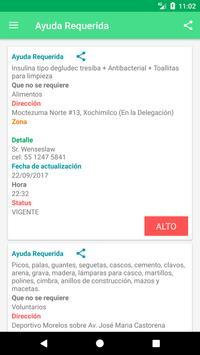 Ayuda México screenshot 1