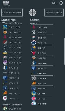 NBA Season Sim - Basketball Analysis & Predictions screenshot 1
