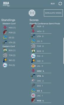 NBA Season Sim - Basketball Analysis & Predictions screenshot 2