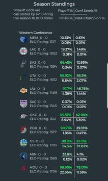 NBA Season Sim - Basketball Analysis & Predictions screenshot 3