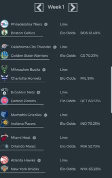 NBA Season Sim - Basketball Analysis & Predictions screenshot 5