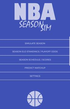 NBA Season Sim - Basketball Analysis & Predictions screenshot 6