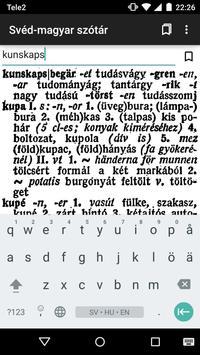 Swedish-Hungarian dictionary apk screenshot