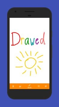 Drawed apk screenshot