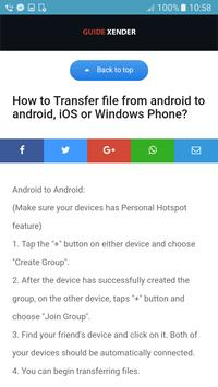 Guide Xender File transfer for Free for Android - APK Download