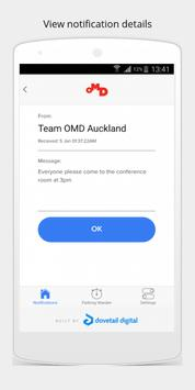 myOMD New Zealand apk screenshot