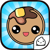 Pancake Evolution Food Clicker icon