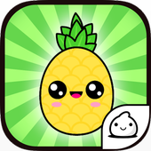 Pineapple Evolution Clicker icon