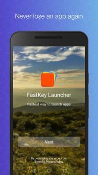 FastKey Launcher poster