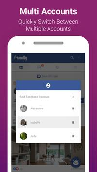 Friendly for Facebook apk screenshot