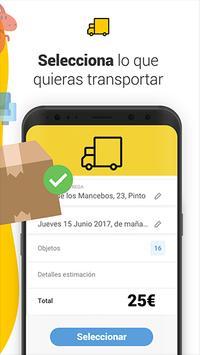 Furgo - Transports & Removals apk screenshot