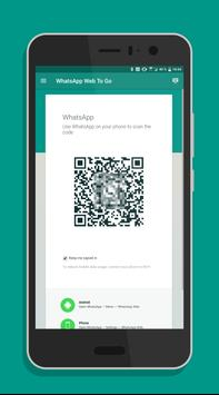 Mobile Client for WhatsApp Web (no ads) poster
