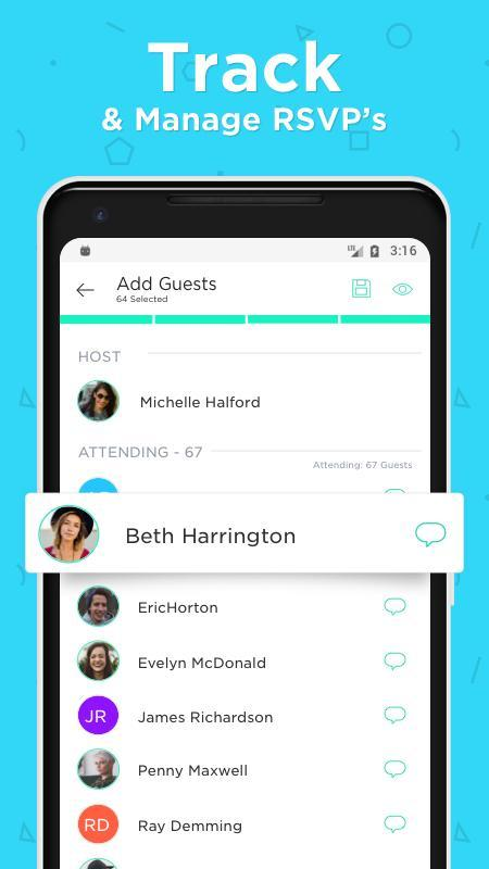Hobnob invitations invitation maker text rsvp apk download free hobnob invitations invitation maker text rsvp apk screenshot stopboris Image collections