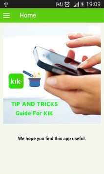 Guide For KIK Messenger screenshot 2