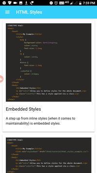 Learn HTML Basics screenshot 3