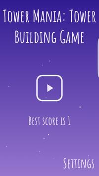 Tower Mania: Blocks Stack Game - Free poster