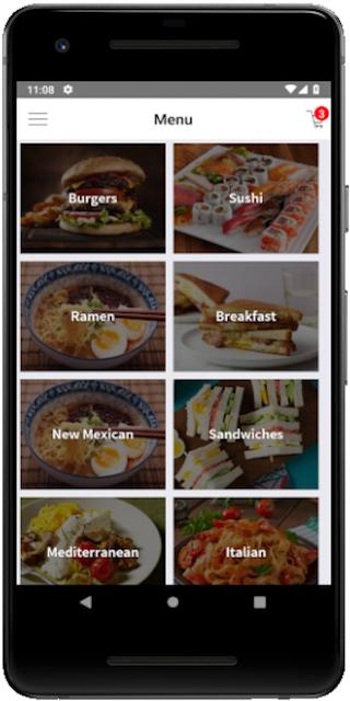 Restaurant Delivery App - Instamobile for Android - APK Download