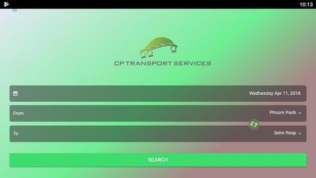 CP Transport Service screenshot 1