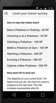 Best Pokemon Go Guide (Free) apk screenshot