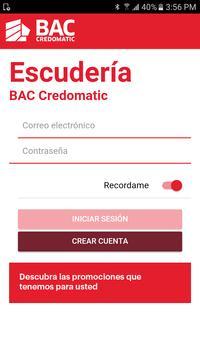 Escuderia Bac poster