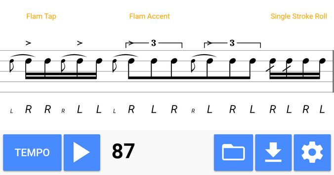 Daily Rudiments apk screenshot
