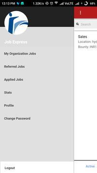 Job Express screenshot 2