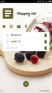 Shopping List by ETS screenshot 1
