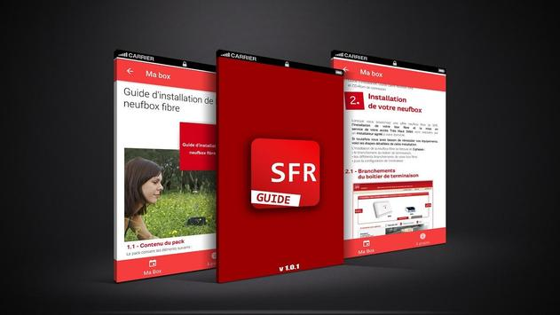 Guide d'installation SFR apk screenshot