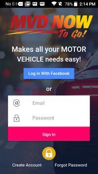 Motor Vehicle Department poster