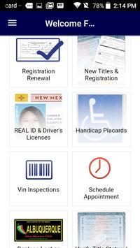 Motor Vehicle Department screenshot 1