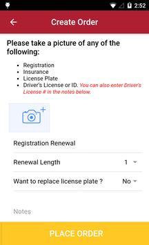 Motor Vehicle Department screenshot 2