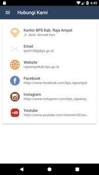 Statistik Raja Ampat screenshot 5