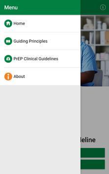 PrEP Clinical Guideline screenshot 1