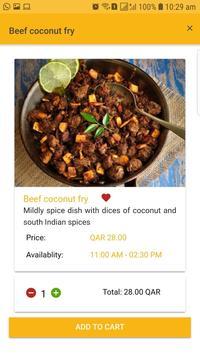 Indian Coffee House Qatar screenshot 2