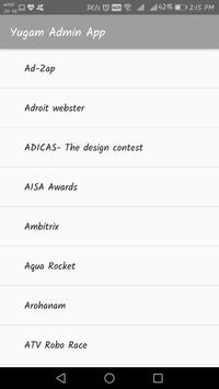Yugam Admin App apk screenshot